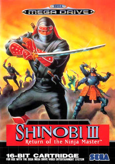Carátula del juego Shinobi III Return of the Ninja Master (Genesis)