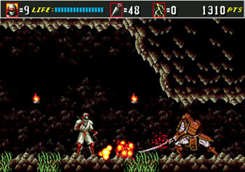 Pantallazo del juego online Shinobi III Return of the Ninja Master (Genesis)