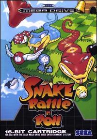 Portada de la descarga de Snake Rattle 'N Roll