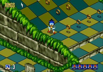 Pantallazo del juego online Sonic 3D Blast (Genesis)