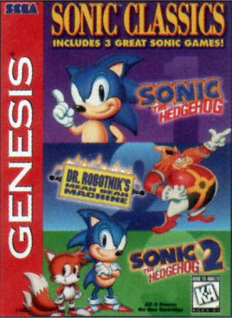 Carátula del juego Sonic Classics (Genesis)