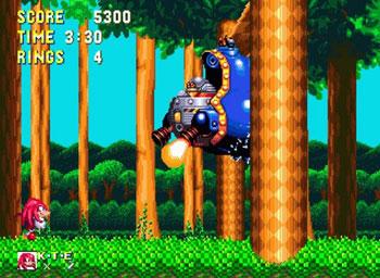 Pantallazo del juego online Sonic & Knuckles (Genesis)