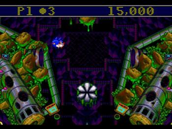 Pantallazo del juego online Sonic Spinball (Genesis)