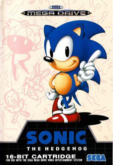 Carátula del juego Sonic the Hedgehog (Genesis)