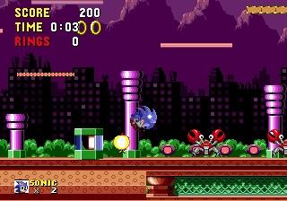 Pantallazo del juego online Sonic the Hedgehog (Genesis)