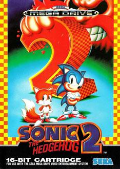 Carátula del juego Sonic the Hedgehog 2 (Genesis)