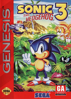 Portada de la descarga de Sonic the Hedgehog 3
