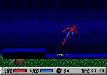 Pantallazo del juego online Spider-Man Vs The Kingpin (Genesis)