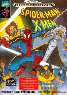 Carátula del juego Spider-Man - X-Men - Arcade's Revenge (Genesis)