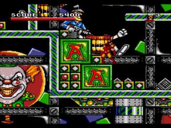 Pantallazo del juego online Spider-Man - X-Men - Arcade's Revenge (Genesis)
