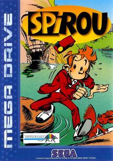 Carátula del juego Spirou (Genesis)
