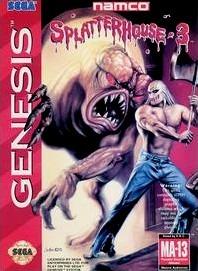 Carátula del juego Splatterhouse 3 (Genesis)