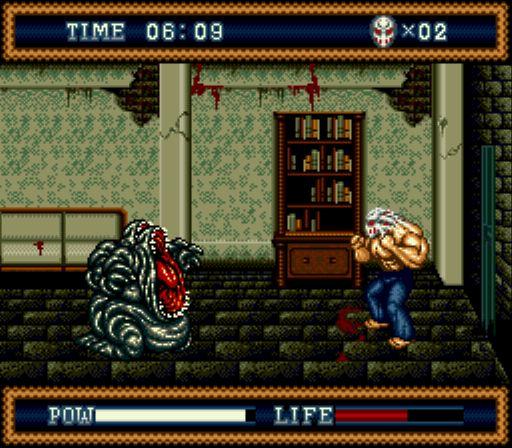 Pantallazo del juego online Splatterhouse 3 (Genesis)