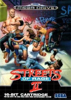 Carátula del juego Streets of Rage 2 (Genesis)
