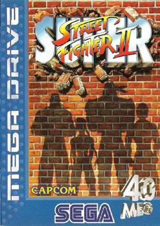 Carátula del juego Super Street Fighter II (Genesis)