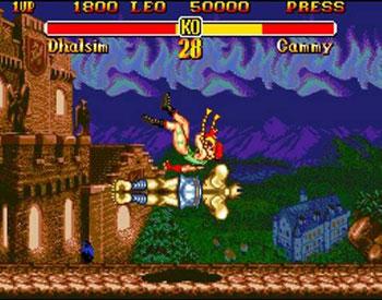 Pantallazo del juego online Super Street Fighter II (Genesis)