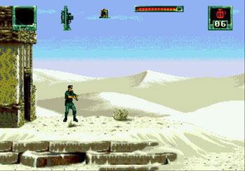 Pantallazo del juego online Stargate (Genesis)