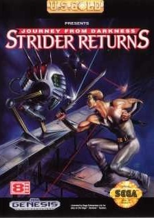 Carátula del juego Journey from Darkness Strider Returns (Genesis)