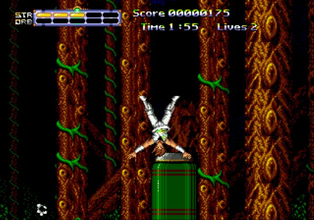 Pantallazo del juego online Journey from Darkness Strider Returns (Genesis)