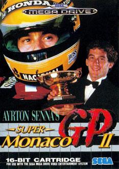 Carátula del juego Ayrton Senna's Super Monaco GP II (Genesis)