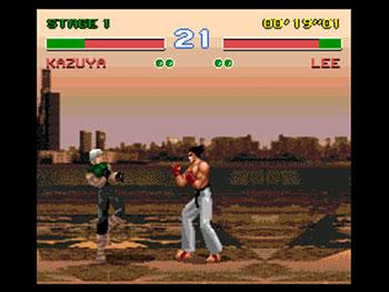 Pantallazo del juego online Tekken 3 Special (Genesis)