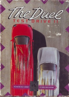 Portada de la descarga de Test Drive II: The Duel