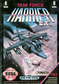 Carátula del juego Task Force Harrier EX (Genesis)