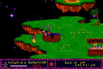 Pantallazo del juego online ToeJam & Earl (Genesis)