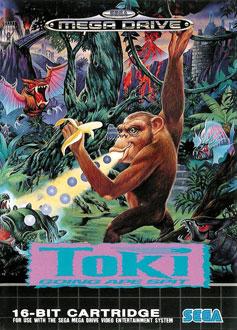 Portada de la descarga de Toki: Going Ape Spit