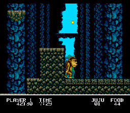 Pantallazo del juego online Toki Going Ape Spit (Genesis)
