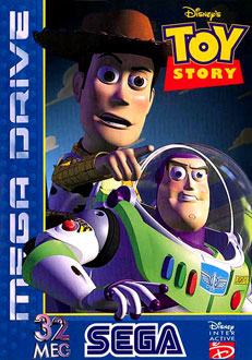Carátula del juego Disney's Toy Story (Genesis)