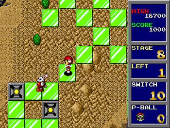 Pantallazo del juego online Trampoline Terror (Genesis)