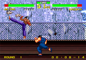 Imagen de la descarga de Virtua Fighter 2 Vs Tekken 2