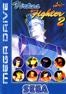 Portada de la descarga de Virtua Fighter 2