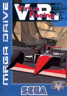 Portada de la descarga de Virtua Racing