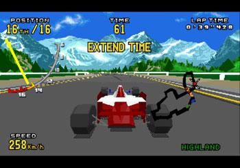 Imagen de la descarga de Virtua Racing