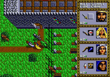Pantallazo del juego online Dungeons & Dragons - Warriors of the Eternal Sun (Genesis)