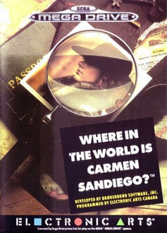 Portada de la descarga de Where in the World is Carmen Sandiego?