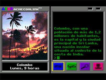 Pantallazo del juego online Where in the World is Carmen Sandiego? (Geneis)