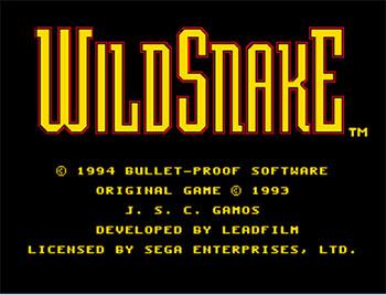 Carátula del juego WildSnake (Genesis)