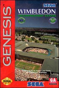Juego online Wimbledon Championship Tennis (Genesis)