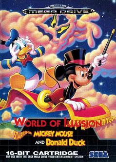 Portada de la descarga de World of Illusion Starring Mickey Mouse and Donald Duck