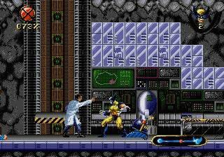 Pantallazo del juego online Wolverine Adamantium Rage (Genesis)