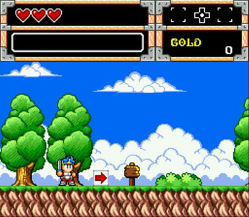 Imagen de la descarga de Wonder Boy in Monster World