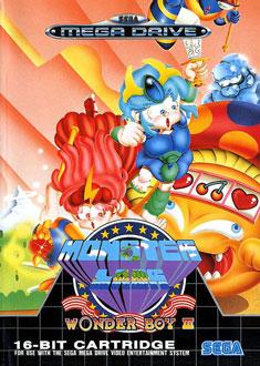 Portada de la descarga de Wonder Boy III: Monster Land