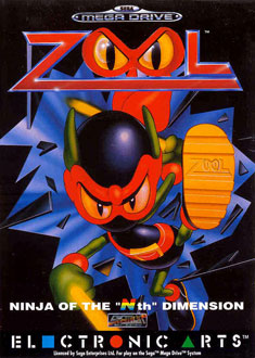 Carátula del juego Zool Ninja of the Nth Dimension (Genesis)