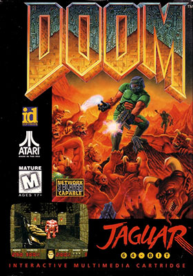 Portada de la descarga de DOOM