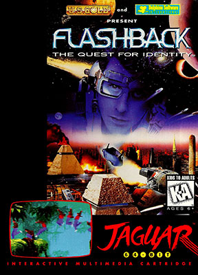 Portada de la descarga de Flashback: The Quest for Identity