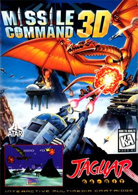 Portada de la descarga de Missile Command 3D