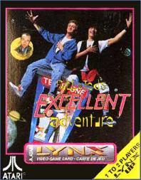 Portada de la descarga de Bill & Ted's Excellent Adventure